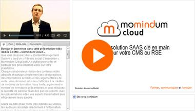 ien vers la présentation de Momindum Cloud